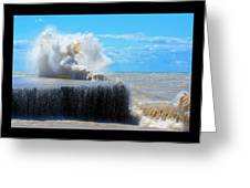 Wave Baby Greeting Card