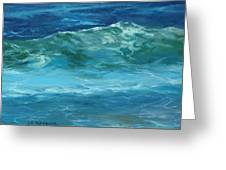 Wave Action Detail Greeting Card