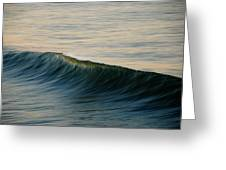 Wave Art Greeting Card by Kelly Wade