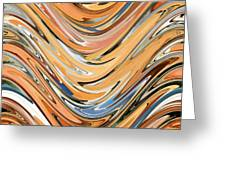 Wave  By Rafi Talby Greeting Card