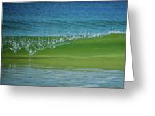 Wave Curl Greeting Card