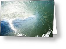 Wave In Motion Greeting Card