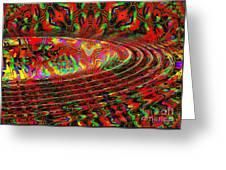 Wave Length Greeting Card