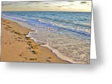 Wave Meditation Greeting Card