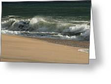 Wave Of Light - Jersey Shore Greeting Card