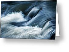 Wave Of The Veil On The River Greeting Card