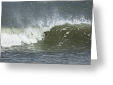 Wave Study Greeting Card