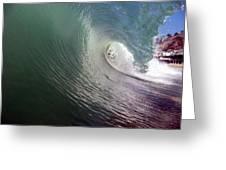 Wave, Tubetime Greeting Card