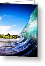 Wave Wall Greeting Card