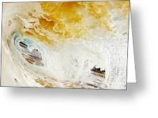 Wave Whitewash Greeting Card