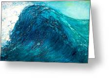 wave X Greeting Card