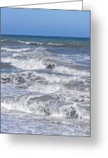 Waves 1 Greeting Card