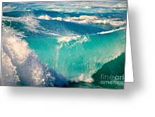 Waves Abound, Sunset Beach, Hawai'i Greeting Card