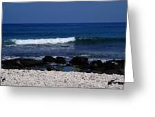 Waves In Paradise Greeting Card