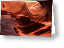 Waves Of Color Greeting Card