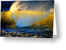 Waves Of Desire Greeting Card
