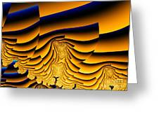 Waves Of Grain Greeting Card