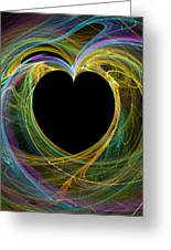 Waves Of Love - Romance Greeting Card