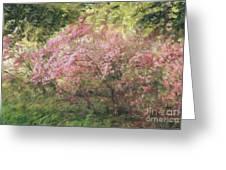 Waves Of Spring Greeting Card
