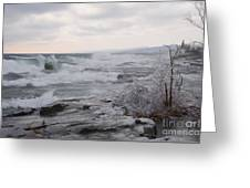 Waves Of Superior Greeting Card
