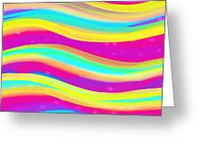 Waves Of Wishes Greeting Card