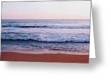 Waves On The Beach 2 Greeting Card