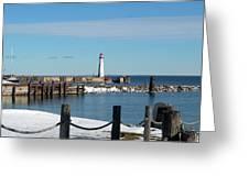 Wawatam Lighthouse Greeting Card