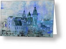 Wawell Castle, Poland Greeting Card