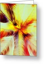 Wax Abstract Greeting Card
