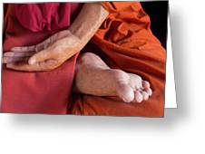 Wax Monk Greeting Card