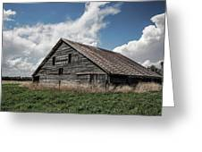 Way Of Life - Weathered Barn In Kansas Greeting Card