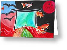 Way Of The Fish Saints Greeting Card