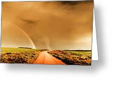 Way Outback Greeting Card