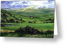 Way To Ardara Ireland Greeting Card