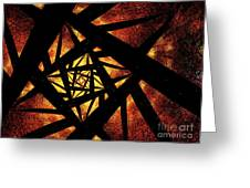 Way To Hell Greeting Card
