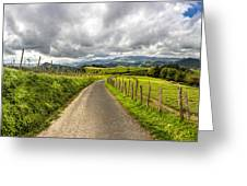 Way To Orio, Spain Greeting Card