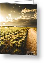 Way To Policemans Point Tasmania Greeting Card