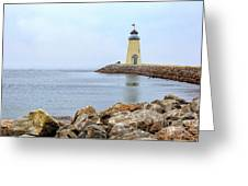 Way To The Lighthouse Greeting Card