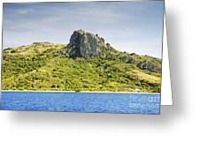 Waya Lailai Island Greeting Card