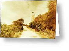 Wayback Beacon Greeting Card