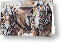 Waylen And Willie Greeting Card