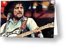Waylon Greeting Card