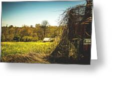 Forgotten Farmlands Greeting Card