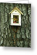 Wayside Shrine Greeting Card