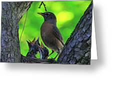 We Are Hungry Greeting Card