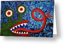 We Need Monsters #7 Greeting Card