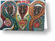 We Three Queens Of Orient Are Greeting Card