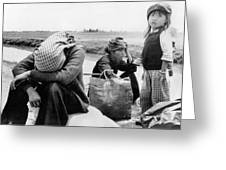 Weary Vietnamese Refugees Greeting Card