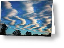 Weather Front Greeting Card