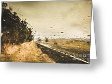 Weather Roads Greeting Card